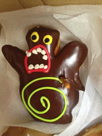 Voodoo Doughnut: Voodoo Doll Doughnut