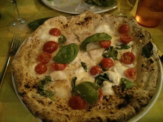 Pizza AM : Positano con scamorza