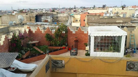 Riad Soleil d'Orient : Terrazzo