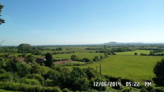 BEST WESTERN Webbington Hotel and Spa : VIEW FROM HOTEL