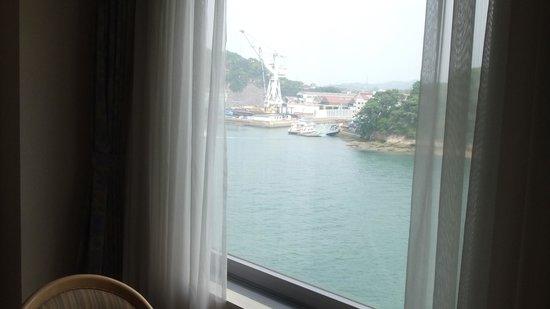 Green Hill Hotel Onomichi: 6階の窓からの眺め