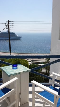 Aegean Hotel: room view