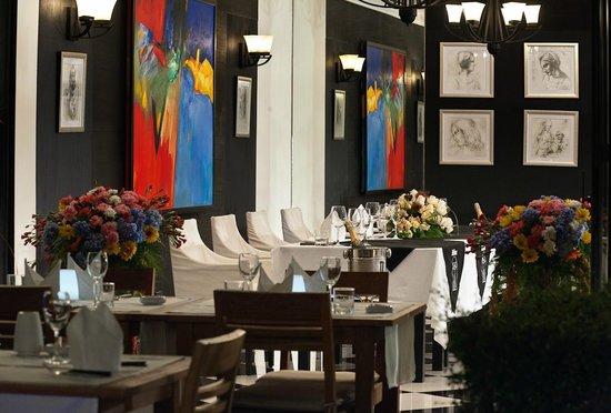 DaVinci Restaurant Nai Harn: private room for 40 pax maximum