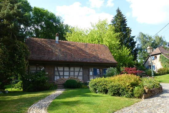 Hotel Le Moulin : Garten