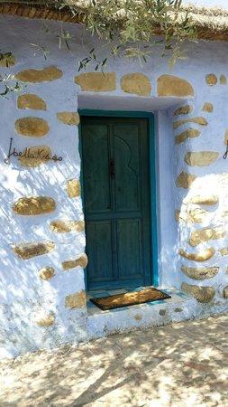 Auberge Dardara: My room door