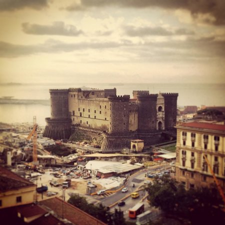 Renaissance Naples Hotel Mediterraneo : Vista da O' Break