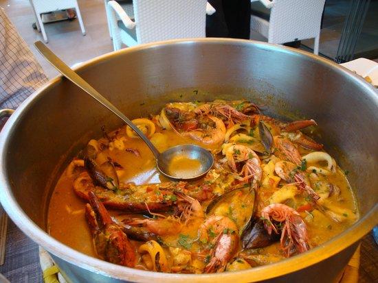 Restaurant Ses Oliveres: Caldereta de Marisco