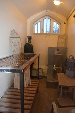 Jailhouse Accommodation: Another cell on display
