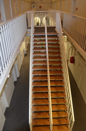 Jailhouse Accommodation: Stairs