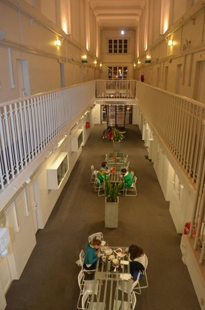 Jailhouse Accommodation: Overlooking the dining area