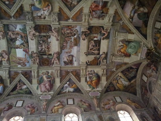 Musées du Vatican : Сикстинская капелла