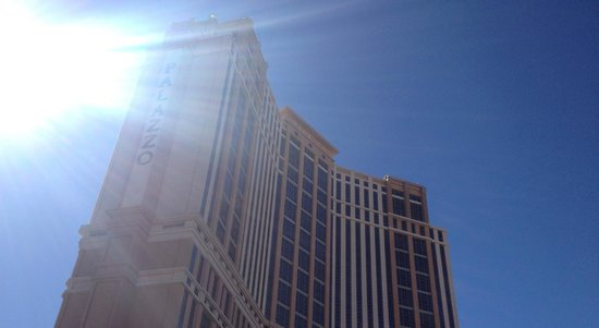The Palazzo Resort Hotel Casino: View from outside