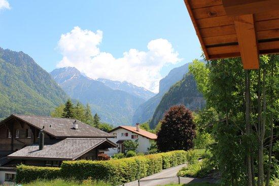 Chalet Gafri - BnB: Viewe from balcony