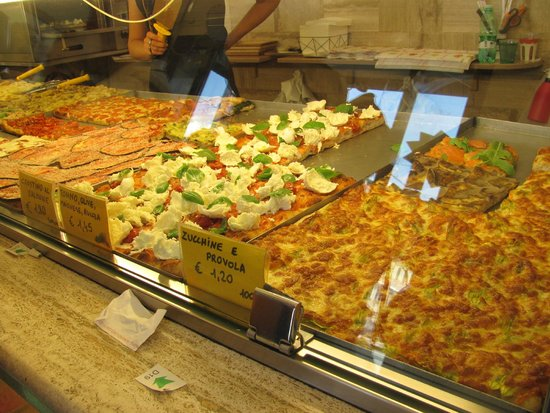 Pizza Florida: pizza choice