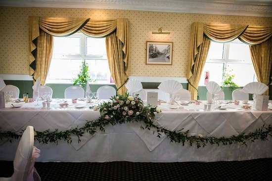 The Devon Hotel: Top Table