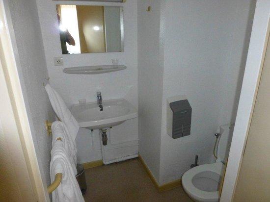 Majestic Hotel : Badezimmer