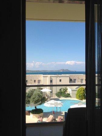 Sentido Port Royal Villas & Spa: vue de chambre premier étage villa 2407