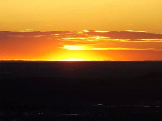 Big Sky Lodge : sunrise