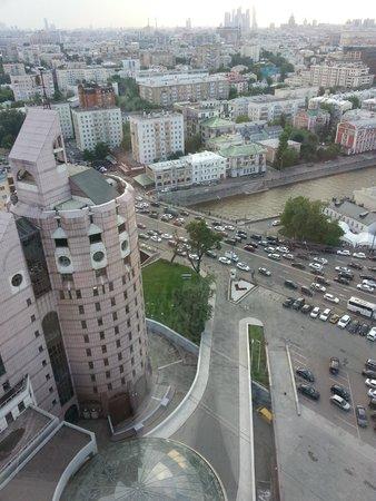 Swissotel Krasnye Holmy Moscow: Видок
