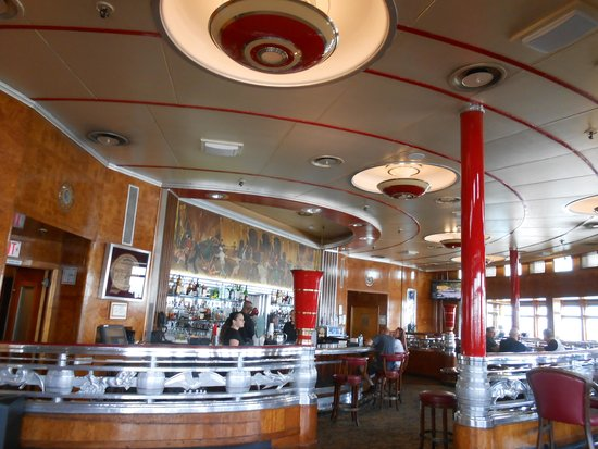 The Queen Mary: Le bar