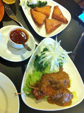 Yo Wan Oriental Restaurant and Bar: Starters