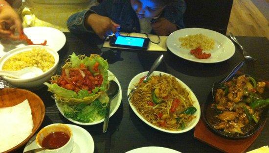 Yo Wan Oriental Restaurant and Bar: main course