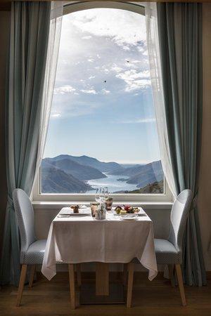 Kurhaus Cademario Hotel & Spa : Restaurant La Terrazza
