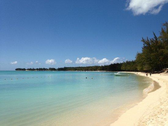 Maritim Resort & Spa Mauritius : Beach at Trou Aux Biches