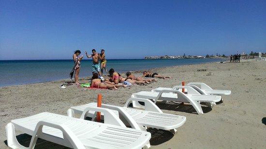 B&B Suliccenti: enjoying the beach at Marzememi