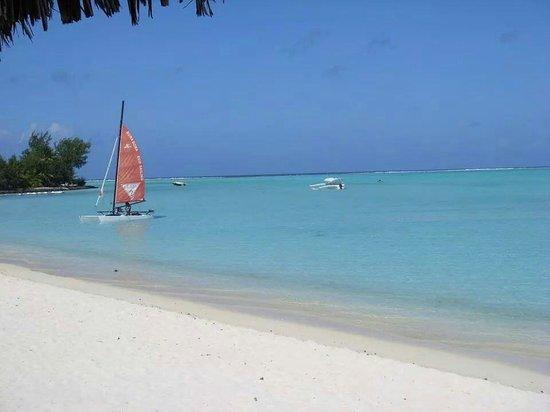 Matira Beach: La plage de matira