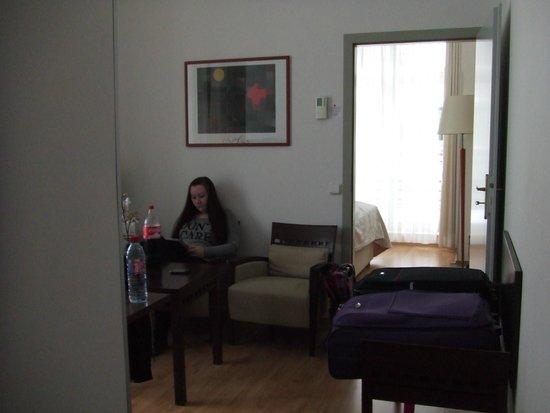 Clarion Hotel Prague Old Town: sitting aera