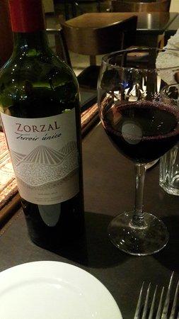 Villa Mansa Wine Hotel & Spa: vino zorzal, excelente sabor y perfume!