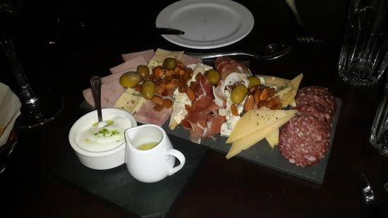 Villa Mansa Wine Hotel & Spa: Tabla de picada!! Recomendada!