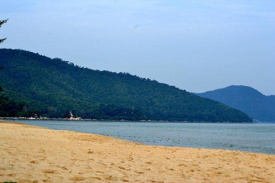 PARKROYAL Penang Resort, Malaysia: Foreshore view