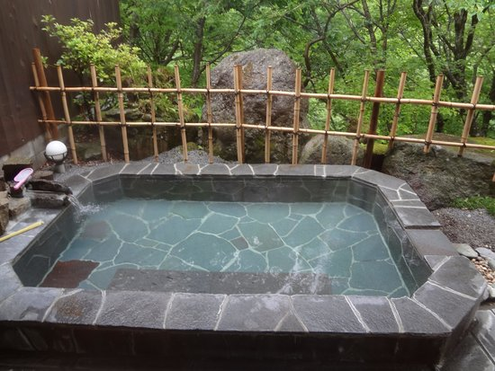 甲子温泉, 母屋露天風呂