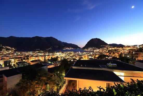 Villa Sassa Hotel, Residence & Spa : View