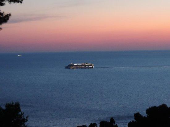 Orsa Maggiore : Vista del mare dalla terrazza della stanza