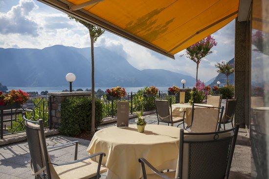 Villa Sassa Hotel, Residence & Spa : Bar Terrace