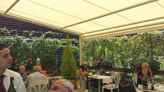 Auberge Du Raisin : terrazza