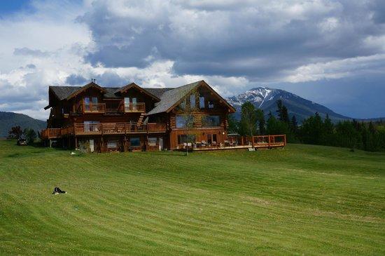 Echo Valley Ranch & Spa: Main lodge