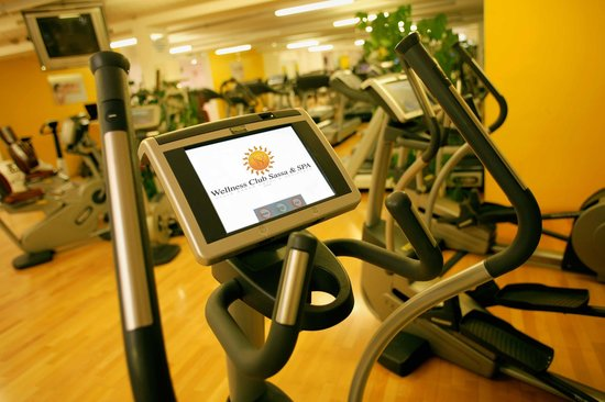 Villa Sassa Hotel, Residence & Spa : Fitness