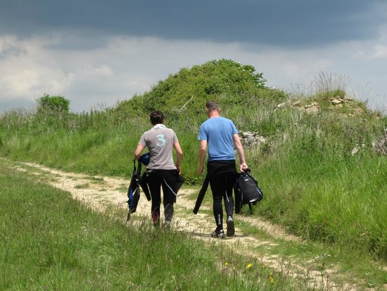 Cumulus Outdoors: The walk back