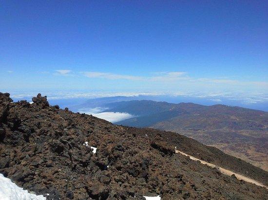 Volcan El Teide : Кислорода мало)