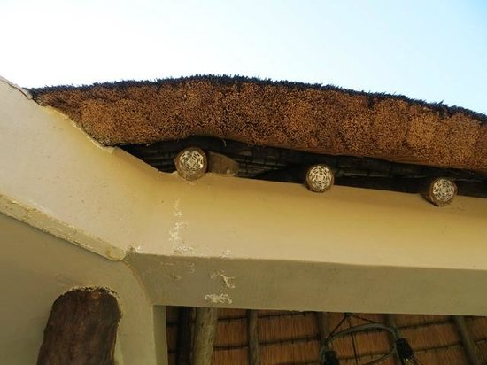 Lions Valley Lodge: Thatched roofing