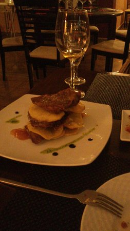 Restaurante Las Trebedes: Hojaldre de secreto