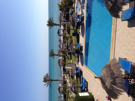 Hotel Dar El Bhar: Vue de la suite FATOU