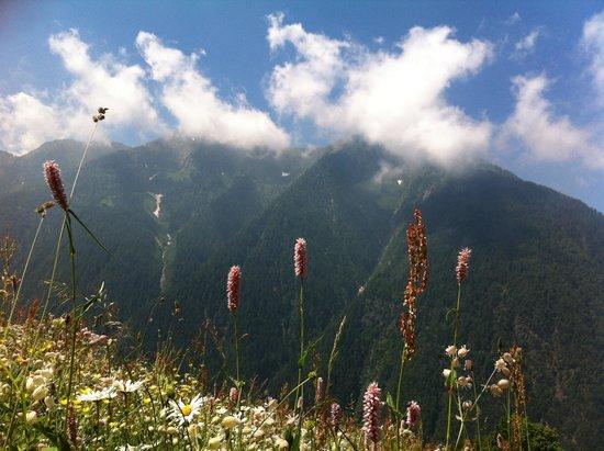 Agriturismo Stella Orobica: panorama rifugio