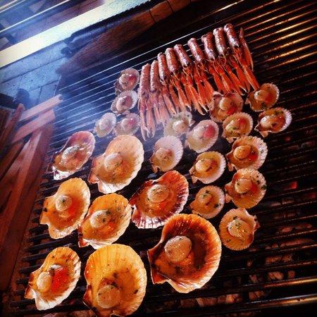 Ristorante Al Fogolar : Grigliatina di pesce