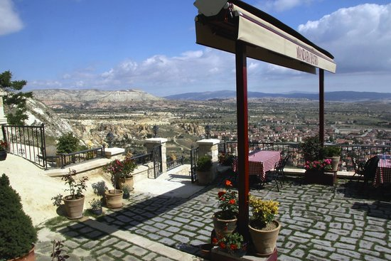 Kayakapi Premium Caves - Cappadocia: Your view from the restaurant