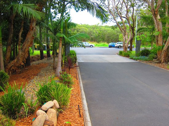 Byron Lakeside Apartments: Tropical Gardens